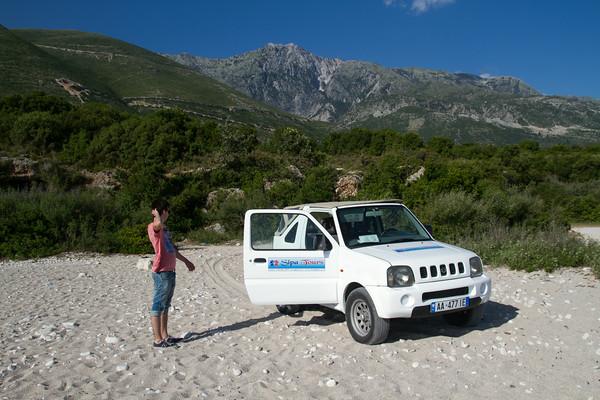 Albania kyst og fjell