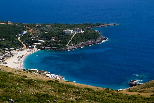 Albanias kyst kan være flott.