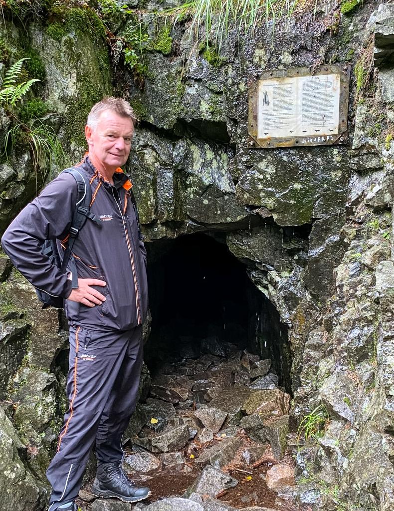 Flaggermus reservat i gamle Gaustad gruve